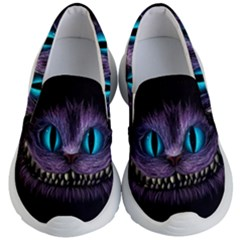 Cheshire Cat Animation Kid s Lightweight Slip Ons by Samandel