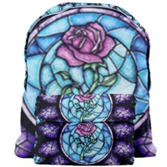 Cathedral Rosette Stained Glass Giant Full Print Backpack