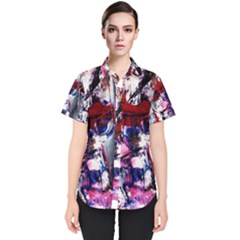 Combat Trans 3 Women s Short Sleeve Shirt by bestdesignintheworld