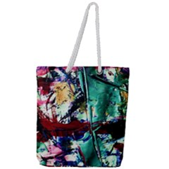 Combat Trans 4 Full Print Rope Handle Tote (large) by bestdesignintheworld