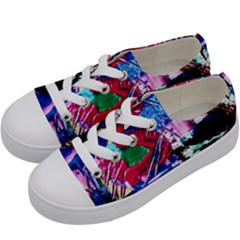 Combat Trans 6 Kids  Low Top Canvas Sneakers by bestdesignintheworld