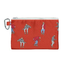 Drake Ugly Holiday Christmas Canvas Cosmetic Bag (medium) by Samandel