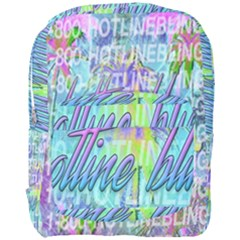 Drake 1 800 Hotline Bling Full Print Backpack by Samandel