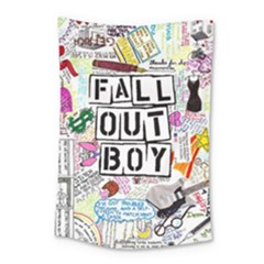 Fall Out Boy Lyric Art Small Tapestry by Samandel