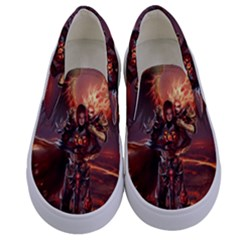Fantasy Art Fire Heroes Heroes Of Might And Magic Heroes Of Might And Magic Vi Knights Magic Repost Kids  Canvas Slip Ons