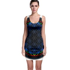 Flower Of Life Bodycon Dress
