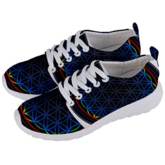 Flower Of Life Men s Lightweight Sports Shoes by Samandel