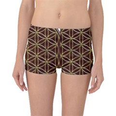 Flower Of Life Boyleg Bikini Bottoms