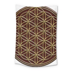 Flower Of Life Small Tapestry