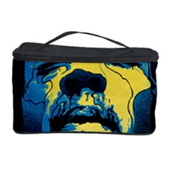 Gabz Jimi Hendrix Voodoo Child Poster Release From Dark Hall Mansion Cosmetic Storage Case by Samandel