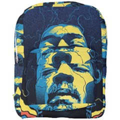 Gabz Jimi Hendrix Voodoo Child Poster Release From Dark Hall Mansion Full Print Backpack by Samandel