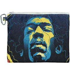 Gabz Jimi Hendrix Voodoo Child Poster Release From Dark Hall Mansion Canvas Cosmetic Bag (xxxl) by Samandel