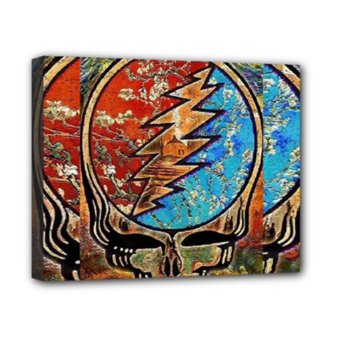 Grateful Dead Rock Band Canvas 10  X 8  by Samandel