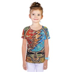 Grateful Dead Rock Band Kids  One Piece Tee