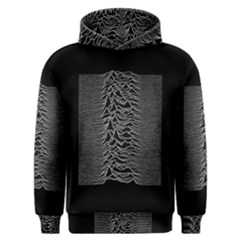 Grayscale Joy Division Graph Unknown Pleasures Men s Overhead Hoodie