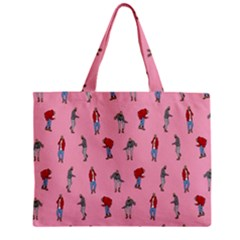 Hotline Bling Pattern Zipper Mini Tote Bag by Samandel