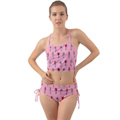 Hotline Bling Pattern Mini Tank Bikini Set