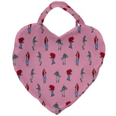 Hotline Bling Pattern Giant Heart Shaped Tote by Samandel