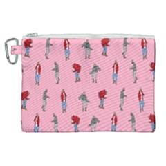 Hotline Bling Pattern Canvas Cosmetic Bag (xl) by Samandel
