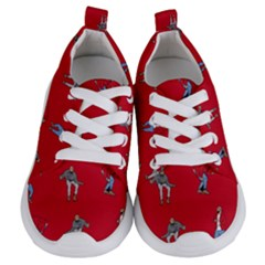 Hotline Bling Red Background Kids  Lightweight Sports Shoes