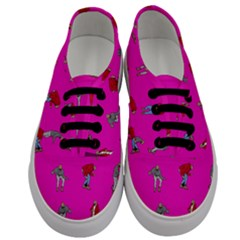 Hotline Bling Pink Background Men s Classic Low Top Sneakers