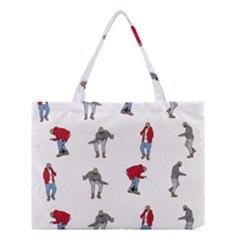 Hotline Bling White Background Medium Tote Bag by Samandel