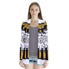 Metal Gear Solid Skull Skulls Drape Collar Cardigan