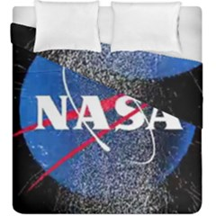 Nasa Logo Duvet Cover Double Side (king Size)