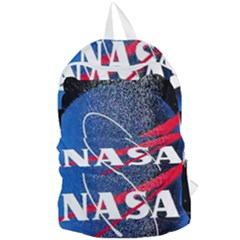 Nasa Logo Foldable Lightweight Backpack