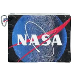Nasa Logo Canvas Cosmetic Bag (xxl) by Samandel