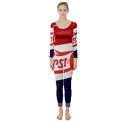 Pepsi Cola Cap Long Sleeve Catsuit