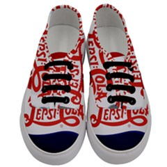 Pepsi Cola Cap Men s Classic Low Top Sneakers