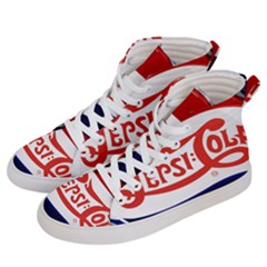 Pepsi Cola Cap Women s Hi Top Skate Sneakers by Samandel