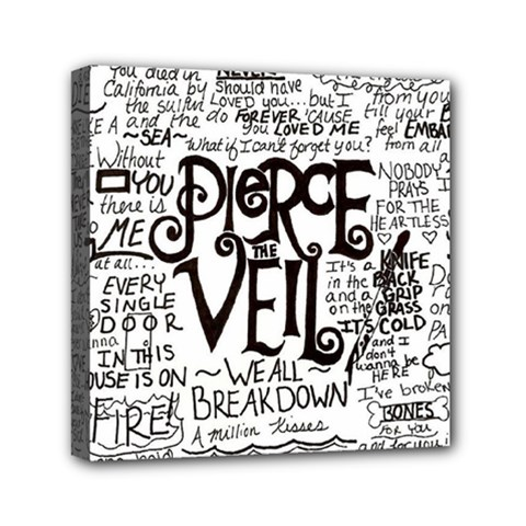 Pierce The Veil Music Band Group Fabric Art Cloth Poster Canvas Travel Bag by Samandel