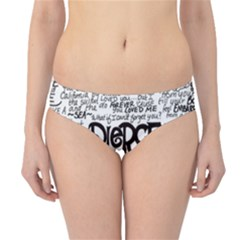 Pierce The Veil Music Band Group Fabric Art Cloth Poster Hipster Bikini Bottoms by Samandel