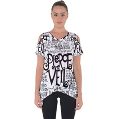 Pierce The Veil Music Band Group Fabric Art Cloth Poster Cut Out Side Drop Tee by Samandel