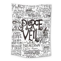 Pierce The Veil Music Band Group Fabric Art Cloth Poster Medium Tapestry by Samandel