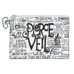 Pierce The Veil Music Band Group Fabric Art Cloth Poster Canvas Cosmetic Bag (xl) by Samandel