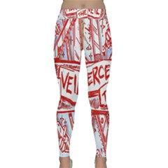 Pierce The Veil  Misadventures Album Cover Classic Yoga Leggings by Samandel
