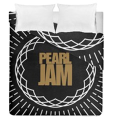 Pearl Jam Logo Duvet Cover Double Side (queen Size) by Samandel