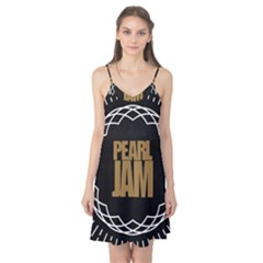 Pearl Jam Logo Camis Nightgown by Samandel