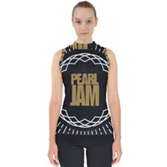 Pearl Jam Logo Shell Top