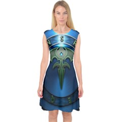 Queensryche Heavy Metal Hard Rock Bands Capsleeve Midi Dress