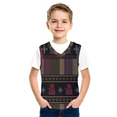 Tardis Doctor Who Ugly Holiday Kids  SportsWear