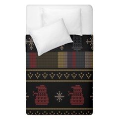Tardis Doctor Who Ugly Holiday Duvet Cover Double Side (Single Size)