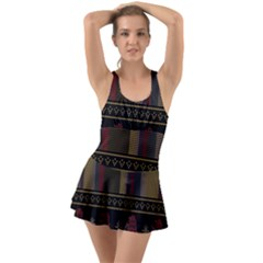 Tardis Doctor Who Ugly Holiday Swimsuit