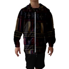Tardis Doctor Who Ugly Holiday Hooded Wind Breaker (Kids)