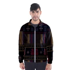 Tardis Doctor Who Ugly Holiday Wind Breaker (Men)