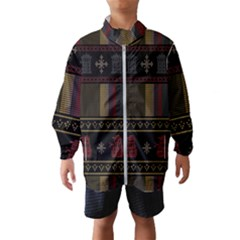 Tardis Doctor Who Ugly Holiday Wind Breaker (Kids)