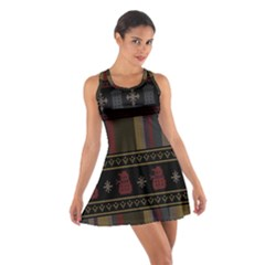 Tardis Doctor Who Ugly Holiday Cotton Racerback Dress